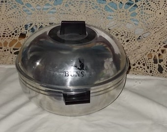 Vintage Bun Warmer West Bend Serving Oven  / Not Included in Coupon Sale