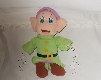 Disney Snow White and the Seven Dwarfs Dopey Stuffed Doll 1983 / Not Included In coupon Sale
