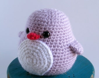 Lilac the Baby Crochet Penguin