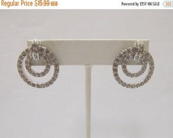 ON SALE NOLAN Miller Crystal Circle Earrings Item K # 521
