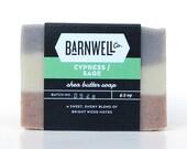 Cypress / Sage Shea Butter Soap