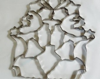 Christmas Cookie Cutter, Multi Cookie Cutter,  20 or More At Once