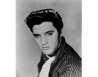 Elvis Presley Publicity Photo 8 By 10 Inches