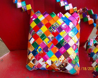 Recycled Snack Bag Handbag