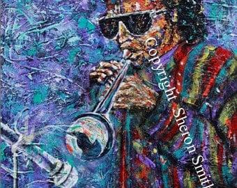 Miles Davis Print