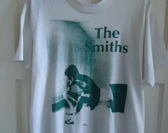 Vintage 80s THE SMITHS T Shirt sz S/M