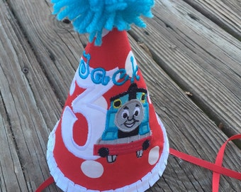 Thomas the train birthday hat