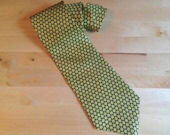 Vintage Smiley Face Tie - Joe Boxer Necktie - 100% Silk - Happy All Around