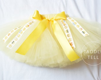 EMOJI Ribbon Tutu - Sizes Newborn to 5t