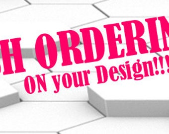 Rush order (add to your order)