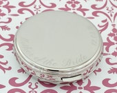 Mother of the Bride Compact Mirror - Personalized Bridesmaid Gift, Mother of the Bride Gift