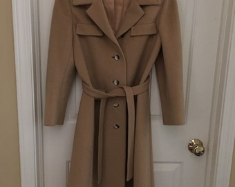 Gorgeous  Ladies Cashmere  Coat Regency for Lord and Taylor Size Small
