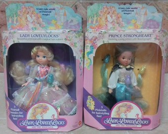 Lady Lovely Locks & Prince Strongheart by Mattel