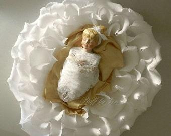 Newborn Baby Photography Rose Flower Prop
