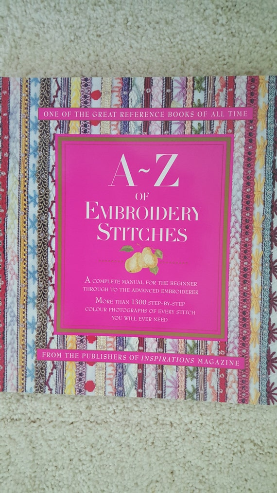 A z of embroidery stitches country bumpkin publications