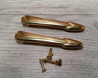 Brass Zoroufy Stair Holds - 4 Pair
