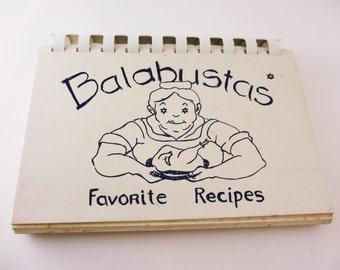 Vintage Cookbook Balabustas Favorite Recipes B'nai Israel Sisterhood Gainesville Florida 1969 Jewish Cooking Judaica