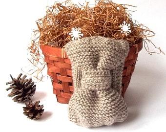 SALE - 50%OFF. Knit Headband. Knit Head Wrap. Knitted Head Warmer. Winter Accessory. Gray Headband.