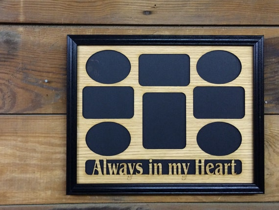 11x14 always in my heart picture frame memorial by