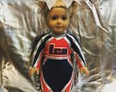 June 16th, 2016 American Girl Doll Custom Cheer Uniform