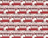 Swaddle Blanket in Double Decker Bus