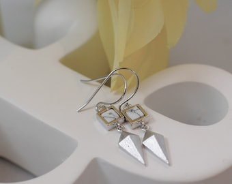 The Dionne Earrings - Silver