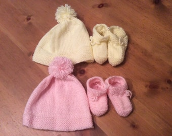 NEW UNIQUE---Baby knitted sweaters, booties  and sets, vintage style. Prices upon request!!