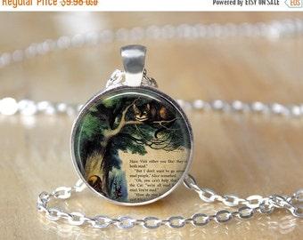 Alice In Wonderland Necklace - Alice in Wonderland Jewelry - Alice in Wonderland Pendant - Book Necklace - Book Pendant - Book Lover 26