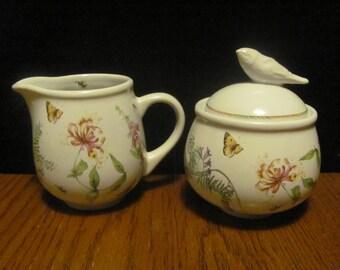 Wildflower Meadow Cream and Sugar by Marjolein Bastin Spring