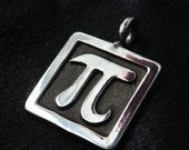 Silver PI pendant