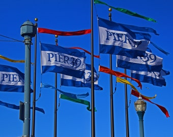 The Flags at Pier 39 (FREE shipping in the U.S. only)