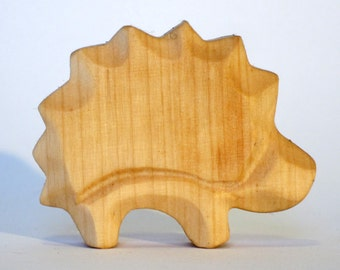 Hedgehog ,Wooden animals, Natural Toy, Wooden Hedgehog, Waldorf Style, Kindergarten, Nature Table, Woodcarving, Eco-friendly