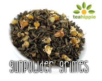 50g Gunpowder Grimes - Loose Green Tea (The Walking Dead Inspired)