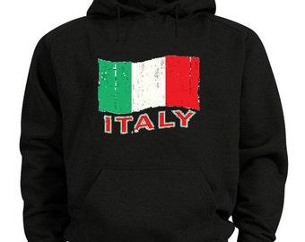 Italy hoodie Italian flag sweatshirt