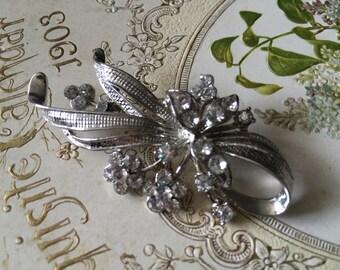 Bling Swarovski rhinestone crystals brooch pin, wedding brooch, bridesmaids gift, wedding jewelry, bridal dress, bridal brooch, brooch pin