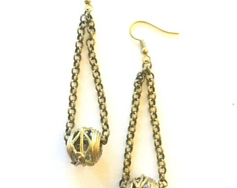 Boule Bead Earrings