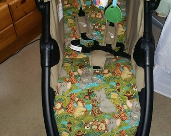 Baby Jogger City Mini Pram Liner// You Pick The Fabric // HYPOALLERGENIC // GT also available in other listing