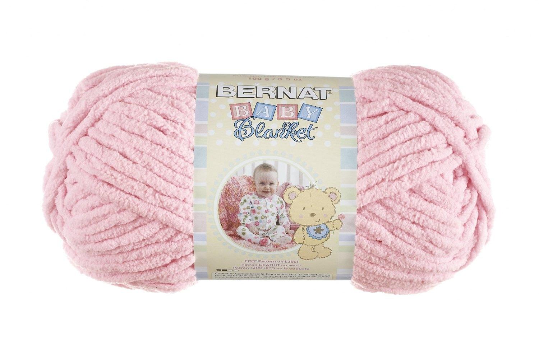 Bernat Baby Blanket Yarn In Baby Girl Pink 100 Gram Skein