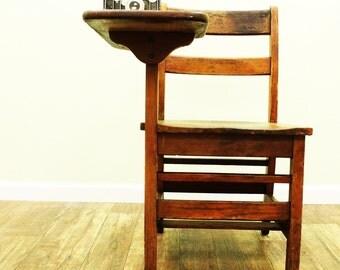 SOLD~Vintage School Desk