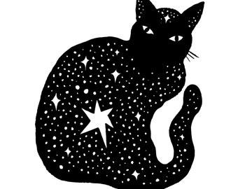 Feline Ink Fine Art Print