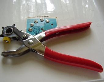 Vintage Snap Fastener Tool