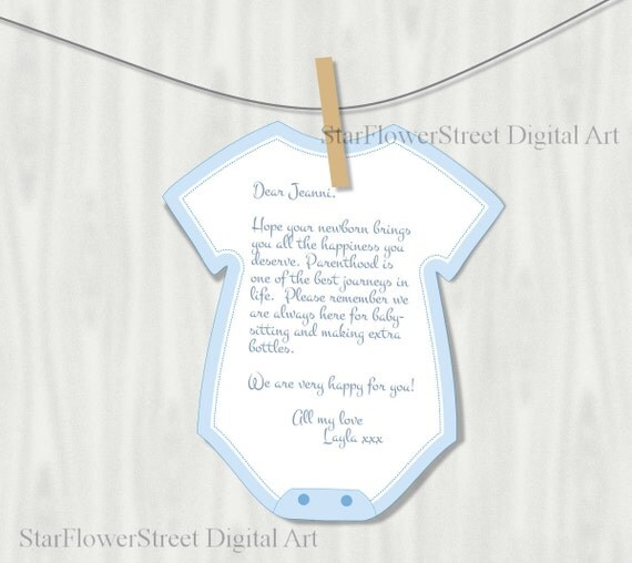 Baby shower decorations boy wishes for baby advice cards for Baby shower decoration cutouts