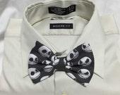 Nightmare Skull Print Bowtie / Bow Tie