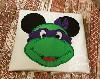 Ninja Turtle Mouse Custom embroidered Disney Inspired Vacation Shirts for the Family! 10
