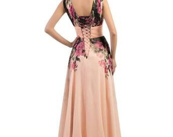 Beautiful plus size formal dress or bridesmaid dress