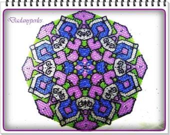 pattern bead weaving doily majestic