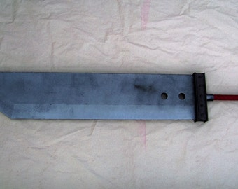 Custom Made Buster Sword Reproduction - Original Version-with Materia