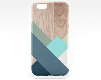 iPhone 7 Case Wood Geometric iPhone 7 Plus iPhone 6s Case iPhone SE Case iPhone 6 Case iPhone 5S Case Galaxy S7 Case Galaxy S6 Case T206