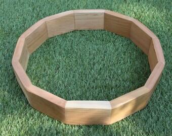 """15"""" Red Cedar Drum Frame/Hoop Native American Style/Shaman/Pagan Drum Hoop/Frame"""