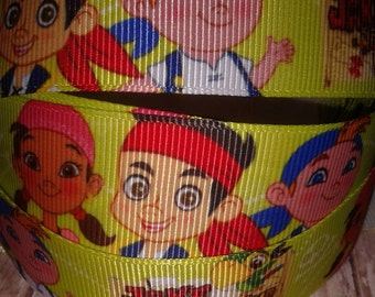 Jake and the Neverland Pirates Grosgrain Ribbon